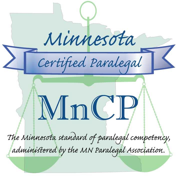 Minnesota Paralegal Association Minnesota Certified Paralegal